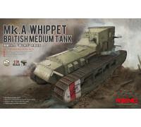 Британский Средний Танк Mk.A Whippet
