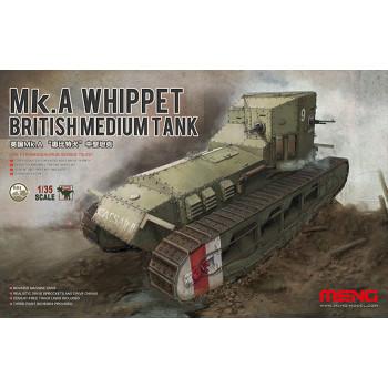Британский Средний Танк Mk.A Whippet сборная модель