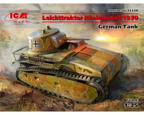 Leichttraktor Rheinmetall 1930, Германский танк