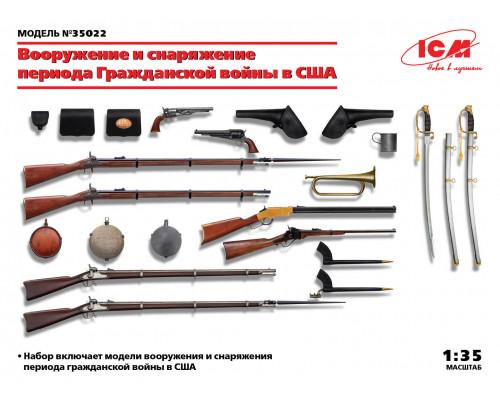 Вооружение и снаряжение периода Гражданской войны в США