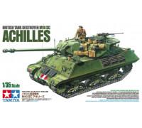 Английский противотанковая сомоходная артиллерийская установка M10 IIC ACHILLES с тремя фигурами