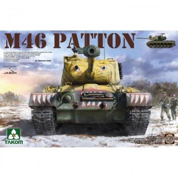 2117 1/35 US MEDIUM TANK M-46 PATTON