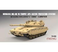 Основной танк Израильской армии Merkava Mk.4m с системой активной защиты