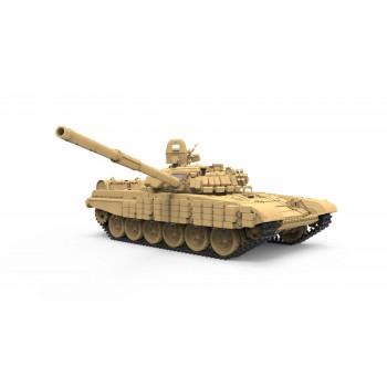 Основной Российский танк T-72B1