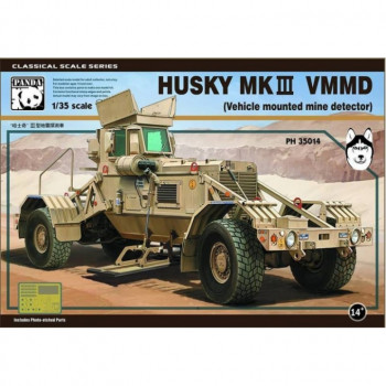 PH35014 1/35 Husky MKIII VMMD (Vehicle mounted mine detector) от Panda Hobby