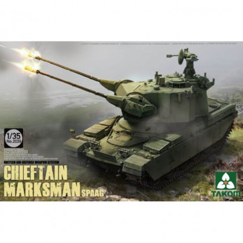 2039 1/35 British Air-defense Weapon System Chieftain Marksman SPAAG, , шт
