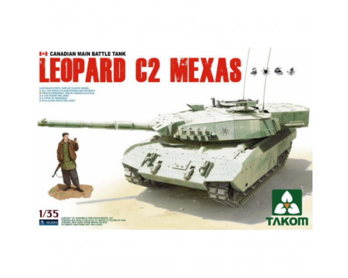2003 1/35 CANADIAN MAIN BATTLE TANK LEOPARD C2 MEXAS, , шт