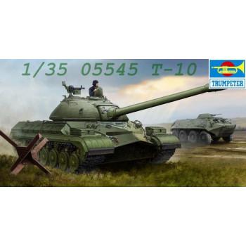 05545 Trumpeter 1/35 Советский тяжелый танк Т-10 от Trumpeter