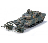 35236 Tamiya 1/35 Танк TYPE 90 with Mine Roller