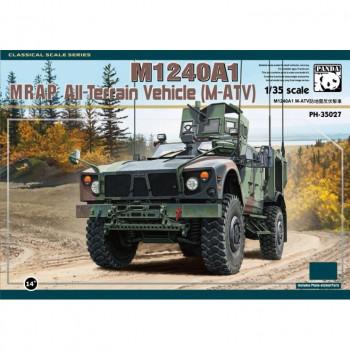 PH35027 1/35 M1240A1 MRAP AII-Terrain Vehicle (M-ATV) от Panda Hobby