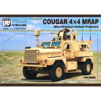 PH35003 1/35 COUGAR 4X4 MRAP (Mine-Resistant Ambush Protected), , шт от Panda Hobby