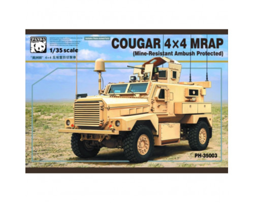 PH35003 1/35 COUGAR 4X4 MRAP (Mine-Resistant Ambush Protected), , шт