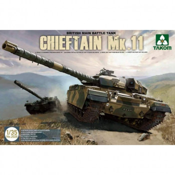 2026 1/35 British Main Battle Tank Chieftain Mk.11, , шт