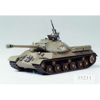"""Советский тяжелый танк ИС-3 """"Иосиф Сталин"""" с 122мм пушкой 1 фигурой командира."""