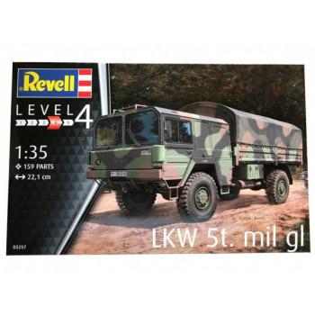 Высокомобильный внедорожник LKW 5t.mil gl (4x4 Truck)