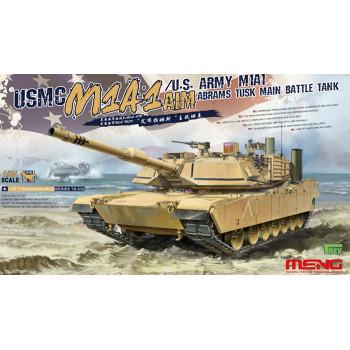 Основной танк армии США M1A1 ABRAMS