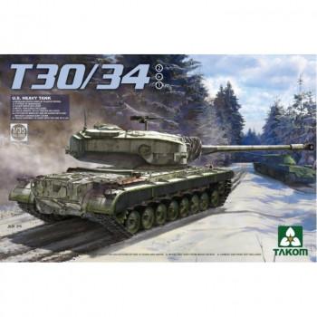 2065 1/35 U.S. Heavy Tank T30/34 2 in 1