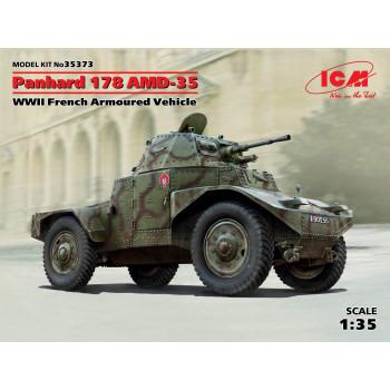 Panhard 178 AMD-35, Французский бронеавтомобиль 2 МВ сборная модель