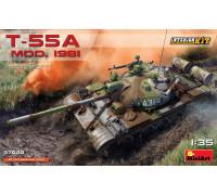T-55A модификация 1981 С ИНТЕРЬЕРОМ
