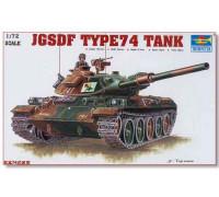 07218 Танк Japan Type 74 Tank (1:72, Trumpeter)