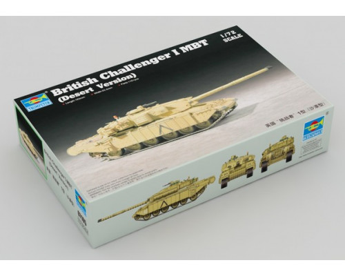 07105 British Challenger I MBT (Desert Version)