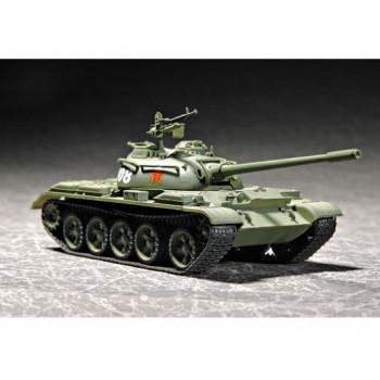 07285 Основной китайский танк Type 59 (1:72, Trumpeter) от Trumpeter