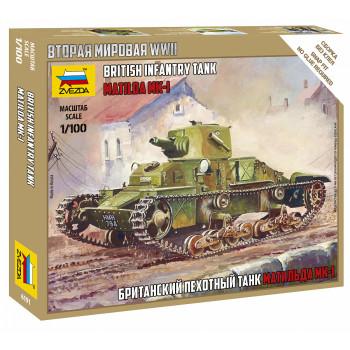 zv6191 Британский танк Матильда Mk-1
