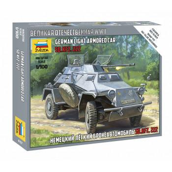 zv6157 Немецкий легкий бронеавтомобиль Sd.kfz 222