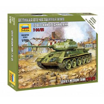 zv6160 Советский средний танк Т-34/85