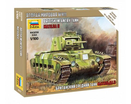 "Британский средний танк ""Матильда II"""