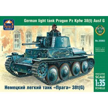"""Немецкий танк """"Прага"""" 38t(G) 1:35"""