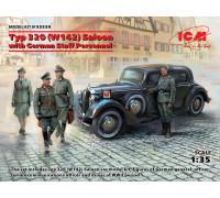 Тип 320 (W142) седан с германским штабным персоналом