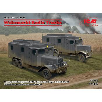 Машины радиосвязи (Henschel 33D1 Kfz.72, Krupp L3H163 Kfz.72)