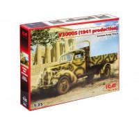 35411 ICM V3000S, Германский грузовой автомобиль, 1941г, 1/35