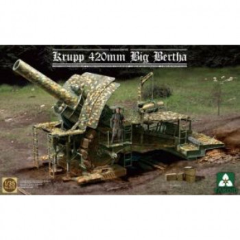 2035 1/35 German Empire 420mm Big Bertha Siege Howitzer, , шт