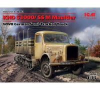 KHD S3000/SS M Maultier, Германский полугусеничный грузовой автомобиль ІІ МВ
