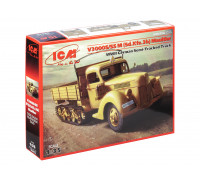 35412 ICM V3000S/SS M (Sd.Kfz.3b) Maultier, немецкий полу-гусеничный грузовик, 1/35