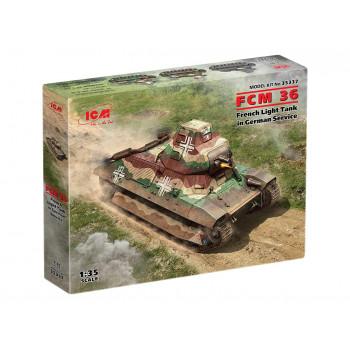 35337 FCM 36, Французский легкий танк на службе Вермахта ICM, 1/35