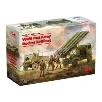 DS3512 Реактивная артиллерия Красной Армии IIМВ ICM, 1/35