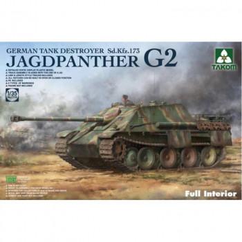 2118 1/35 Jagdpanther G2 German Tank Destroyer Sd.Kfz. 173 Full Interior kit