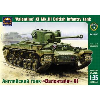 "Английский пехотный танк ""Валентайн"" XI 1:35"