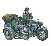 0317ИТ МОТОЦИКЛ ZUNDAPP KS 750 с коляской