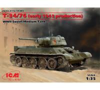Т-34-76 (производство начала 1943 г.),Советский средний танк ІІ МВ