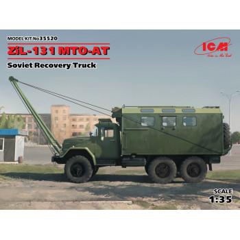 ЗиЛ-131 MTO-AT, Советский армейский автомобиль сборная модель