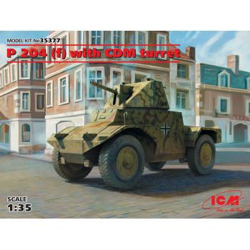 Panzerspähwagen P 204 (f) с башней, Германский бронеавтомобиль ІІ МВ сборная модель