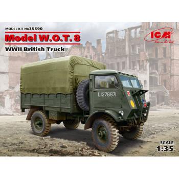 Model W.O.T. 8, Британский грузовой автомобиль ІІ МВ сборная модель