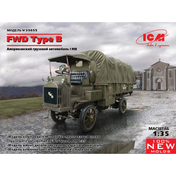 FWD Type B, Грузовик армии США IМВ сборная модель
