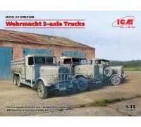3-осные грузовые автомобили (Henschel 33D1, Krupp L3H163, LG3000)