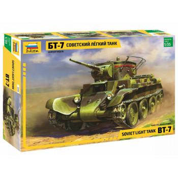 zv3545 Советский танк БТ-7