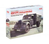35413 ICM G917T (производства 1939), немецкий грузовой автомобиль, 1/35